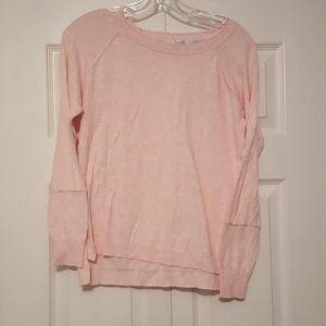 Boden pink cotton sweater, size us 8